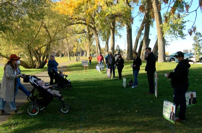 'A Walk in the Park' candidate meet and greet ahead of municipal election