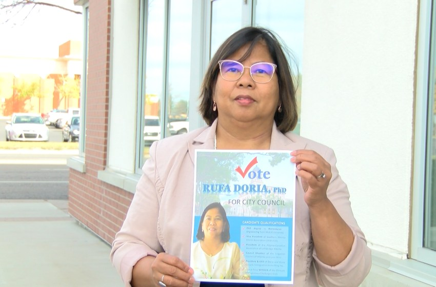Rufa Doria vying for a seat on Lethbridge City Council