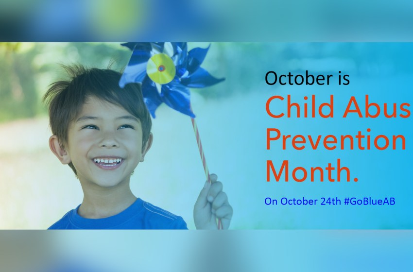 Raising awareness for Child Abuse Prevention Month