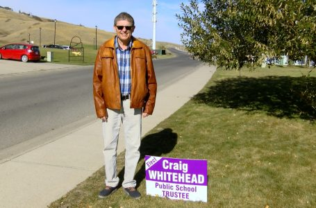 Craig Whitehead vying for Public School Trustee position