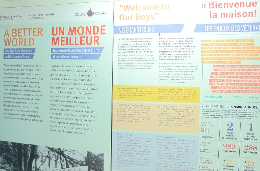 New display for Lethbridge Military Museum
