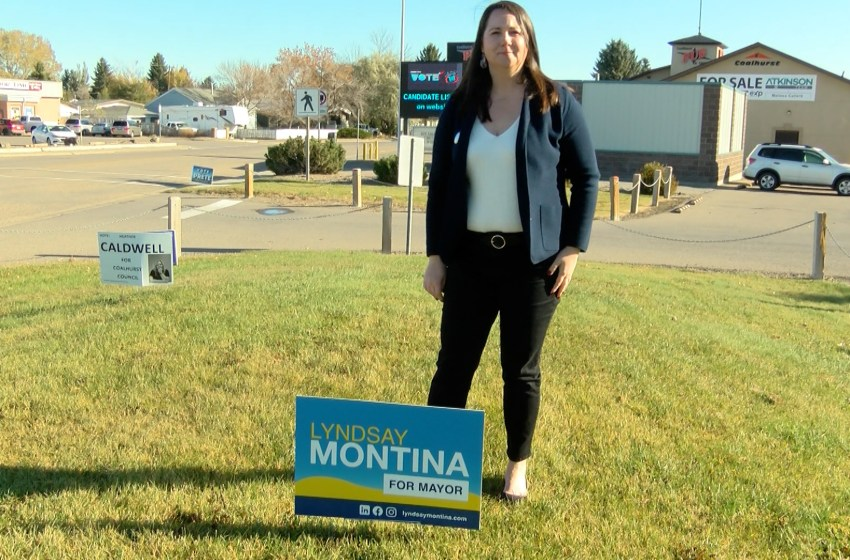 Lyndsay Montina elected as new mayor of Coalhurst